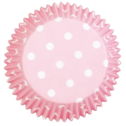 Wilton Baking Cups Dots -Light Pink- pk/75