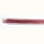 Culpitt Floral Wire Metallic Pale Pink set/50 -24 gauge-
