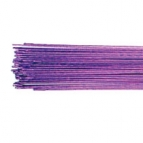 Culpitt Floral Wire Metallic Purple set/50 -24 gauge-