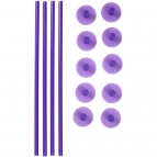 Wilton Plastic Support Rods and Caps pk/14