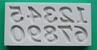 Alphabet Moulds - Bookman Old Style numbers