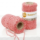 HoM Bakers Twine -Rood- 20m