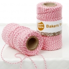 HoM Bakers Twine -Roze- 20m