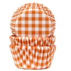 House of Marie Baking Cups Ruit Oranje pk/50