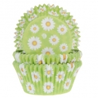 House of Marie Baking Cups Daisy pk/50
