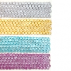 Karen Davies Siliconen Mould - Large Sequins Border