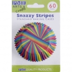 PME Baking Cups Snazzy Stripes pk/60